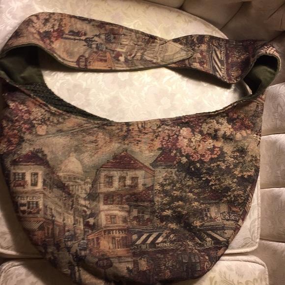 Handbags - Tote bag with strap heavy duty cloth